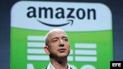 Jeff Bezos, fundador y presidente de Amazon, es hijo de un cubano exiliado (Foto: Archivo).