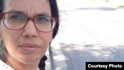 Luz Escobar, periodista del diario 14ymedio (Tomado de su página de Facebook).