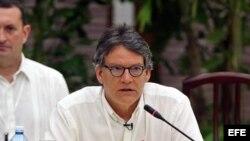 Gustavo Bell, jefe de la delegación gubernamental de Colombia en negociaciones con el ELN
