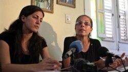 Ofelia Acevedo y Rosa María Payá recibieron visa para viajar a Italia