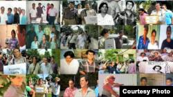 Imágenes que recuerdan la primera entrega de firmas del Proyecto Varela. (Foto: MCL)