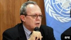El relator especial de la ONU sobre la Libertad de Expresión, Frank La Rue.