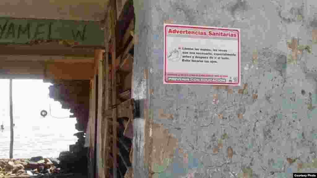 Advertencia Sanitaria en Sancti Spíritu