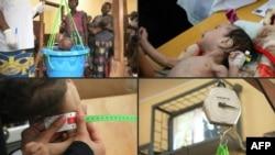 Desnutrición de niños