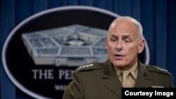 General John Kelly, jefe del Comando Sur