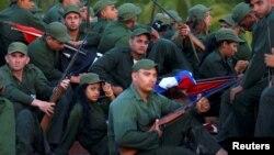 Foto archivo de soldados cubanos. (REUTERS/Ivan Alvarado).