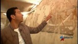 Descubren nueva tumba del alto imperio faraónico junto a Pirámides de Guiza