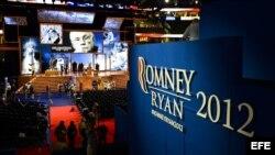 Convención republicana en Tampa, Florida. Agosto 2012.