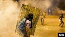 Barricadas y protestas en Venezuela (Archivo)