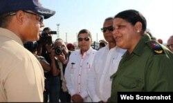 Mercedes López Acea es la actual primera secretaria del PCC en La Habana.
