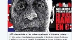 Tuitazo Mundial por la vida de Guillermo Fariñas
