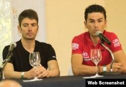 De izquierda a derecha, el portugués Luis Leao Pinto y el colombiano Alejandro Tamayo, los dos favoritos para ganar la competencia.