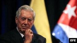 El Nobel de Literatura y presidente de La Fundación Internacional para la Libertad, Mario Vargas Llosa.