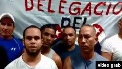 Cubanos en huelga de hambre en el centro de detención de inmigración de las Islas Caimán