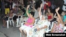 Asambleas Elecciones Cuba