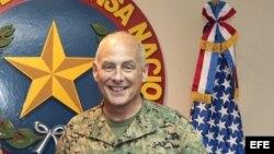 Fotografía de archivo del jefe del Comando Sur de Estados Unidos, John Kelly.