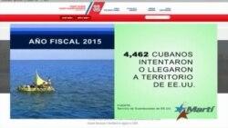 Crece emigración ilegal de cubanos pese a nueva relación EEUU-Cuba