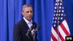 Obama afirma que decapitación de reportero agita la conciencia del mundo