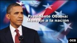 Obama mensaje
