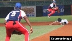Equipo cubano en acción en el Mundial de Sub18