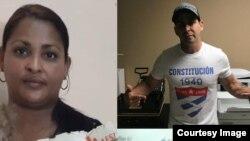 Magdalena de Cuba conversa con Marichal