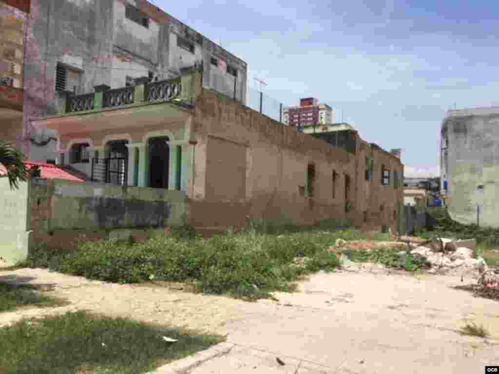 Una favela en el corazón de El Vedado.