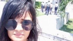 Declaraciones de Claudia Genlui a Radio Martí
