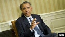 Presidente de Estados Unidos Barack Obama