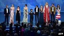 """El elenco de """"Games of Thrones"""". Frederic J. BROWN / AFP"""