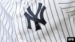 El logo de los Yankees de Nueva York.
