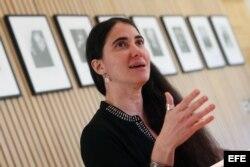 Yoani Sánchez. (Archivo)