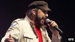 El artista dominicano Juan Luis Guerra.