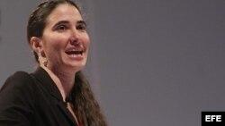 Yoani Sánchez recogerá importante premio en New York