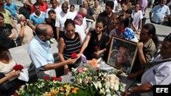 Funerales de Oswaldo Payá.