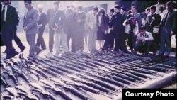 Miles de fusiles estadounidenses transferidos por Vietnam a Cuba, fueron enviados a Chile en 1986.