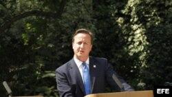 Fotografía de archivo del primer ministro británico David Cameron.