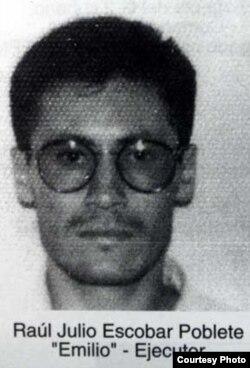 Raúl Julio Escobar Poblete, uno de los gatilleros, se encontraría en Cuba (foto EMOL)