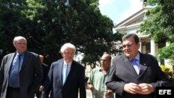 Thomas Donahue en la universidad de La Habana