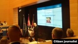 La Fundación Konrad Adenauer destaca trayectoria del ex preso político Félix Navarro
