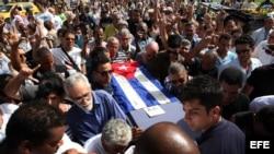 La ceremonia fúnebre en La Habana