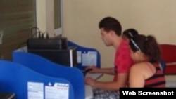 Internet en Cuba en salas de provincias