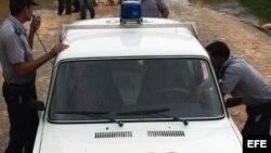 Policías cubanos. Foto archivo.