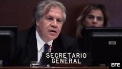 Luis Almagro, secretario general de la OEA. (Archivo)