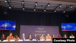 Oslo Freedom Forum 2018
