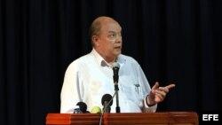 El ministro de Comercio Exterior de Cuba, Rodrigo Malmierca.