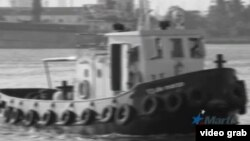 El remolcador 13 de Marzo, en La Habana.