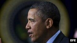 El presidente de EEUU, Barack Obama. Foto de archivo
