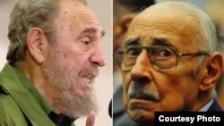 Fidel Castro y Jorge Rafael Videla (Fotos: Archivo).