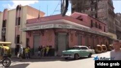 El Floridita cerrado por duelo nacional tras muerte de Fidel Castro.