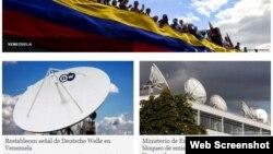 Cobertura de Venezuela en Deutsche Welle.